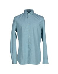 Lardini Shirts Shirts Men Light Green