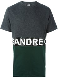 Andrea Crews 'Zero' T Shirt Grey