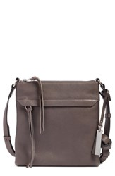 Vince Camuto Leather Crossbody Bag Grey Greystone