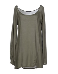 Original Vintage Style T Shirts Military Green