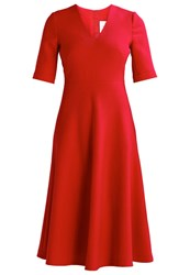 Lk Bennett Vivi Cocktail Dress Party Dress Roca Red