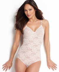 Bali Firm Control Lace N Smooth Body Shaper 8L10 Rosewood