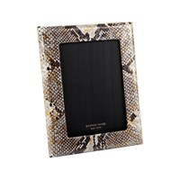 Graphic Image Photo Frame 5'X7' Gold Python