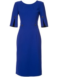 Ginger And Smart Suffuse Dress Blue