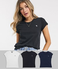 Abercrombie And Fitch 3 Pack T Shirts Multi