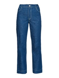Trademark High Rise Flared Jeans