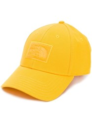 The North Face Embroidered Patch Baseball Cap Yellow
