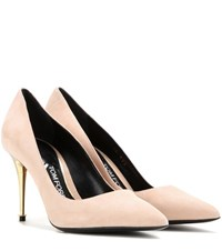 Tom Ford Suede Pumps Beige