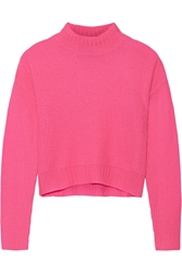 Line Briony Cropped Cashmere Sweater Pink