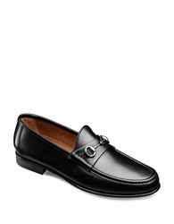 Allen Edmonds Italian Verona Ii Leather Horsebit Loafers Black