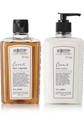 C.O. Bigelow Coconut Body Lotion And Cleanser Set One Size Colorless