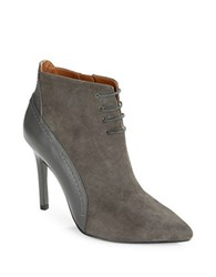H Halston Irene Ankle Booties Grey
