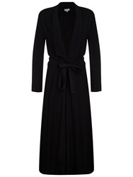 Ghost Neila Satin Crepe Coat Black