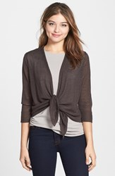 Nic Zoe Women's '4 Way' Convertible Long Sleeve Cardigan River Rock