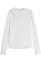 Thierry Mugler Blouse With Sheer Insert