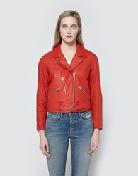 Veda Cal Jacket In Blood Orange