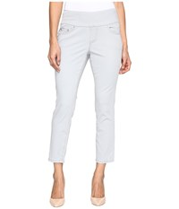 Jag Jeans Petite Amelia Pull On Slim Ankle In Bay Twill Shadow Women's Casual Pants Brown