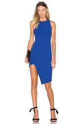 Finders Keepers Hold Us Dress Blue