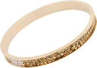 Chamak By Priya Kakkar Crystal Studded Bangle Gold