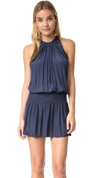 Ramy Brook Paris Sleeveless Dress Navy