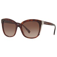 Tiffany And Co. Co Tf4150 'S Embellished Square Sunglasses Tortoise Brown Gradient