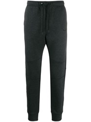 Fendi Panelled Tapered Track Trousers Grey