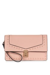 Topshop Caleb Studded Clutch Pink