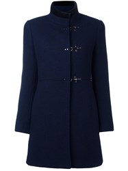 Fay Duffle Coat Blue