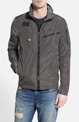 G Star Men's G Star Raw 'Recolite' Lightweight Military Jacket Grey