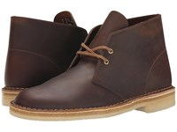Clarks Desert Boot Beeswax Leather Men's Lace Up Boots Brown