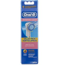 Oral B Sensitive Replacement Heads Pack Of Four