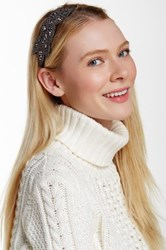 David And Young Embellished Headwrap Gray