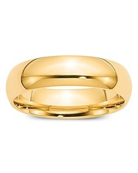Bloomingdale's 6Mm Comfort Fit Band Ring In 14K Yellow Gold 100 Exclusive