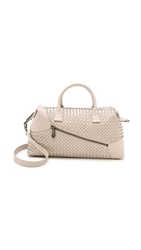 Christopher Kon Woven Satchel Alloy
