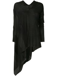 Masnada Asymmetric Top Black