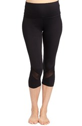 Rosie Pope Women's Candace Crop Maternity Leggings Black