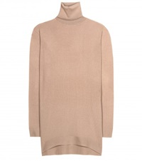 Balenciaga Cashmere Turtleneck Sweater Beige