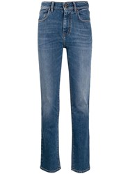 Max Mara High Rise Straight Leg Jeans 60