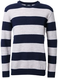 Hl Heddie Lovu Striped Jumper Blue