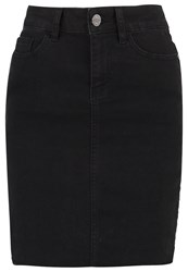 Noisy May Nmbe Lexi Denim Skirt Black