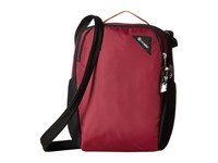 Pacsafe Vibe 200 Anti Theft Compact Travel Bag Dark Berry Day Pack Bags Brown