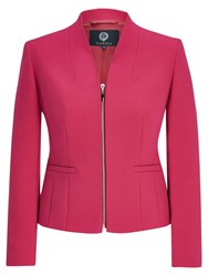 Viyella Zip Jacket Bright Pink
