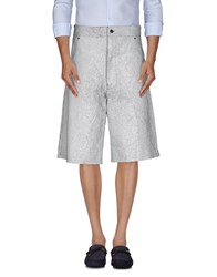 Blood Brother Trousers Bermuda Shorts Men White