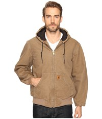 Carhartt Qfl Sandstone Active Jacket Frontier Brown Men's Coat