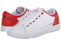 Eleven Paris 11Prs Cny White Red Women's Lace Up Casual Shoes