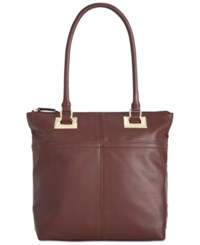 Tignanello Showstopper Tote Raisin
