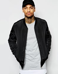 Eclipse Reversable Bomber Jacket Black