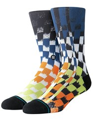 Stance Space Dust Socks Multicolor