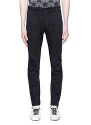 Attachment Slim Fit Chinos Black
