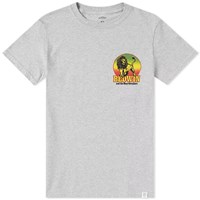 Bedwin And The Heartbreakers Gonzales Print Tee Grey